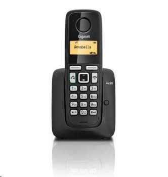 Gigaset A220 Black bezdrátový telefon