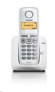 Gigaset A220 White bezdrátový telefon