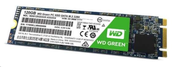 WD SSD Green M.2 120GB pevný disk