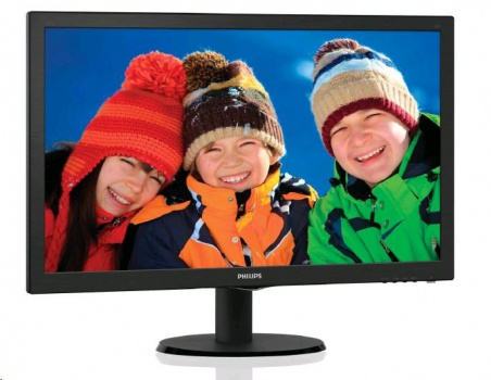 "Philips 243V5QSBA 24"" LED monitor"