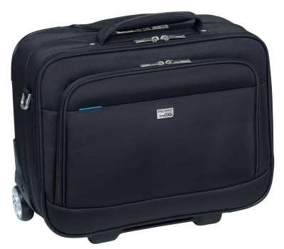 Kufr na notebook Pierre s kolečky 17, černá