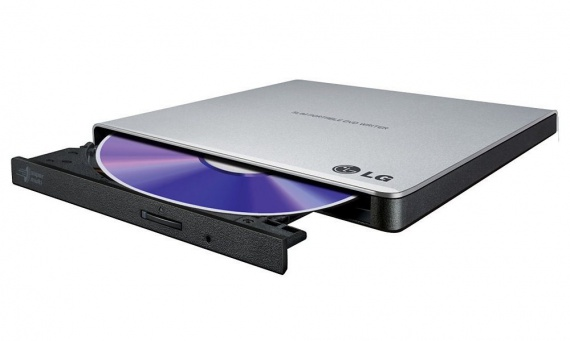 Mechanika externí CD/DVD/R/RW +/- LG GP57ES40 slim