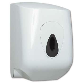 Zásobník na papírové ručníky v rolích - bílý