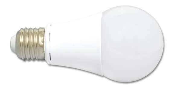 LED žárovka E27, A60, 12 W, 3000 K