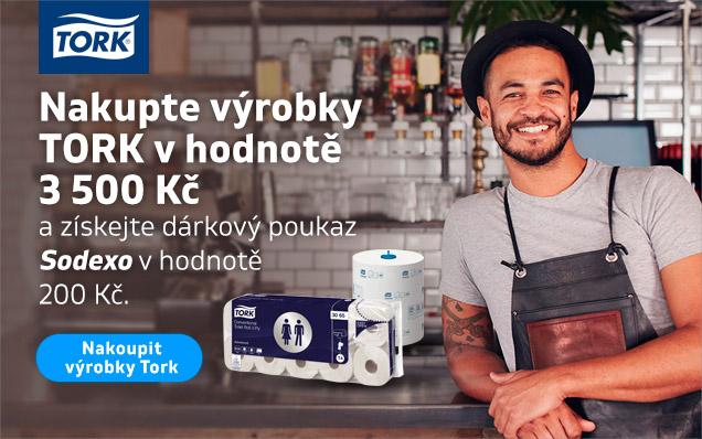 Sodexho poukaz za nákup výrobků TORK!
