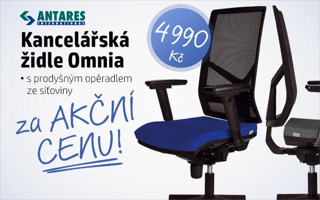 Židle Omnia za AKČNÍ cenu!