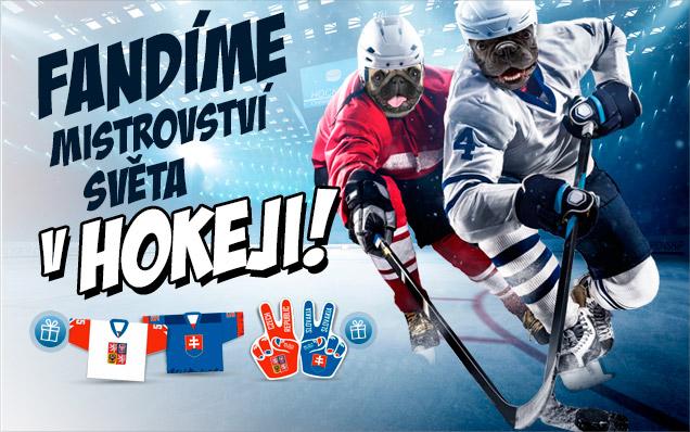 Fandi s námi MS v hokeji a ZÍSKEJ DRES!