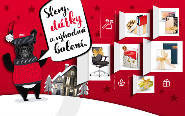 Vánoční SLEVY, DÁRKY a VÝHODNÁ BALENÍ