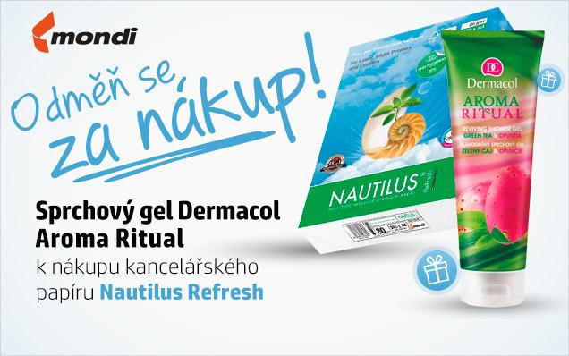 Sprchový gel Dermacol ZDARMA k papíru Nautilus!