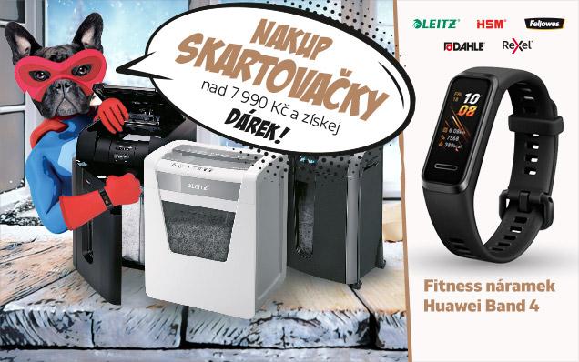 ZDARMA fitness náramek Huawei Band 4