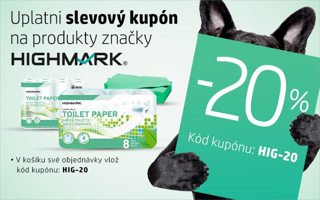 20% SLEVA na drogerii Highmark
