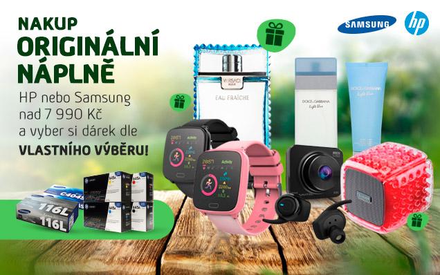 Nové DÁRKY k náplním HP a Samsung