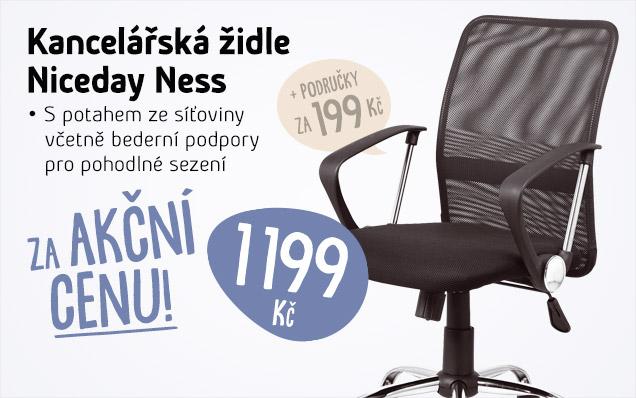 AKČNÍ CENA Kancelářské židle Niceday Ness
