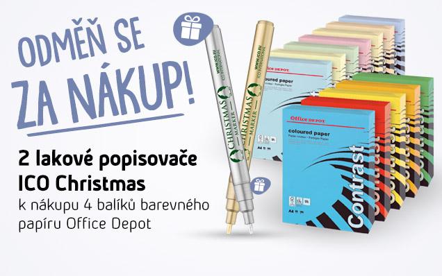 Získej DÁREK ZDARMA popisovače ICO Christmas